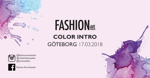 COLOR INTRO GÖTEBORG