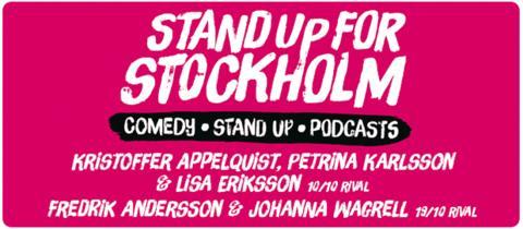 STAND UP STOCKHOLM GRATIS