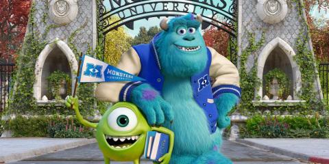 Topfilm med George Clooney og Monsters University