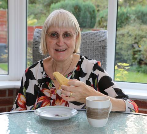 Stockport stroke survivor encourages budding bakers to Give a Hand and Bake