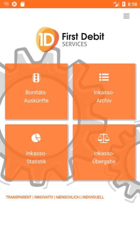Mit der First Debit Smartphone-App werden Bonitätsauskünfte und Inkasso jetzt mobil und digital