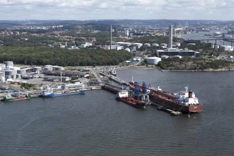 EU millions for LNG terminal at  the Port of Gothenburg