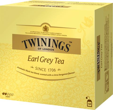 Twinings Earl Grey 50 påsar