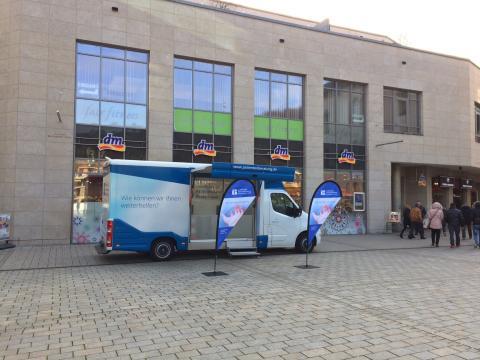 Beratungsmobil der Unabhängigen Patientenberatung kommt am 4. April nach Schwäbisch Hall.
