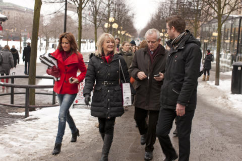 Nu promenerar vi jorden runt för kvinnors hjärtan!