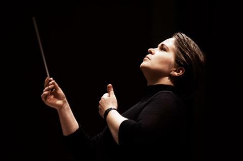 Pressträff: Eva Ollikainen, ny chefdirigent för Nordiska Kammarorkestern