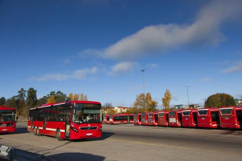 10-minuterstrafik för Solnaresenärer