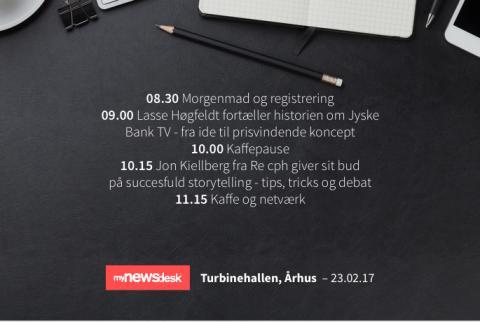 Storytelling- og netværksevent - Århus