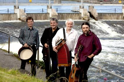 Máirtín O'Connor Band - irländskt och fartfyllt
