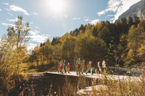 Wallis: Wanderung entlang des Römerwegs