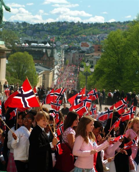 Barntåget i Oslo 17 maj