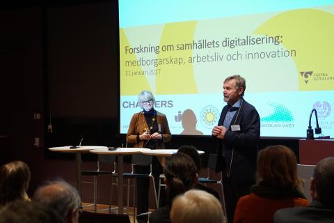 Västsverige diskuterar forskning om samhällets digitalisering