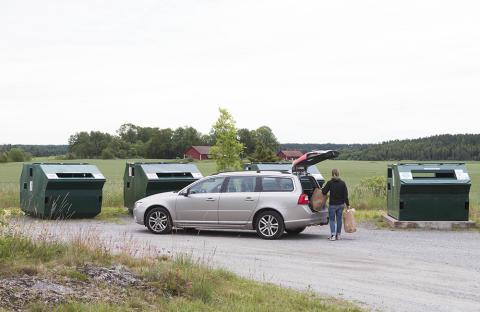 Härslöv får återvinningsstation
