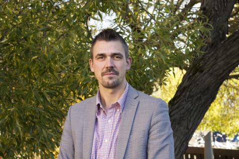 Magnus Karlberg, professor och föreståndare Fastelaboratoriet