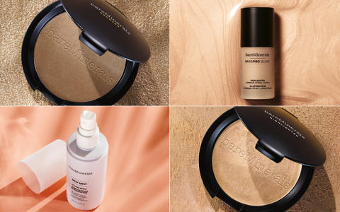 bareMinerals New Clean Glow Collection