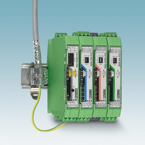 Et trådløst system, som understøtter et kablet netværk