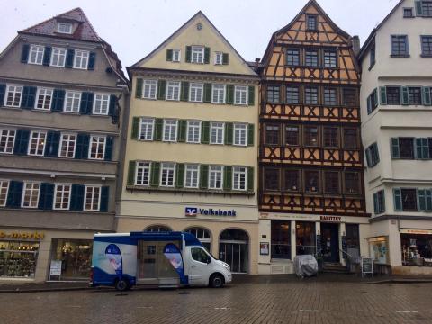 Beratungsmobil der Unabhängigen Patientenberatung kommt am 11. August nach Tübingen.