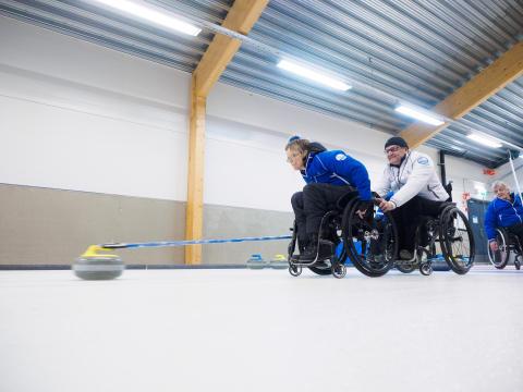 TCS tukee Suomen pyörätuolicurlingjoukkuetta MM-kisoissa