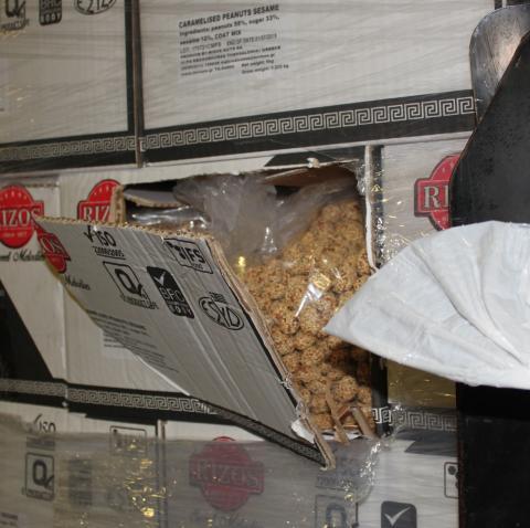 Legitimate load of caramelised peanuts (SE 12.17)