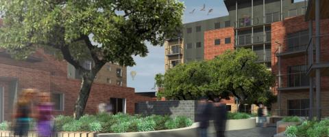 ISG appointed to build homes for £22M Norwich scheme