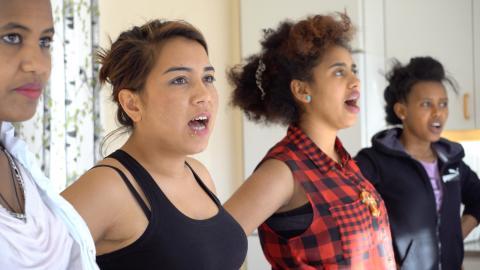 Här är musikprojektet som hjälper unga flyktingar