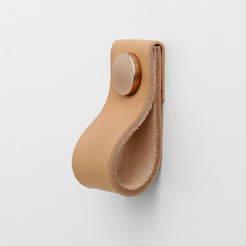 Superfront Handle Loop Nude leather Copper