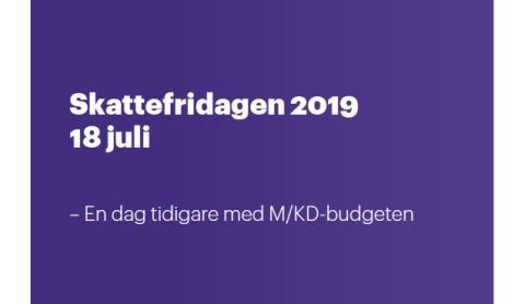 Då infaller Skattefridagen i Örebro län