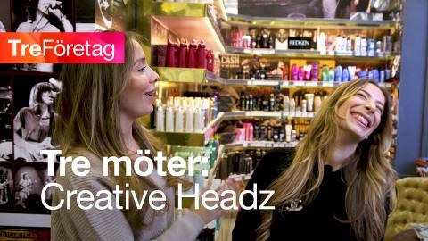 Tre möter Creative Headz