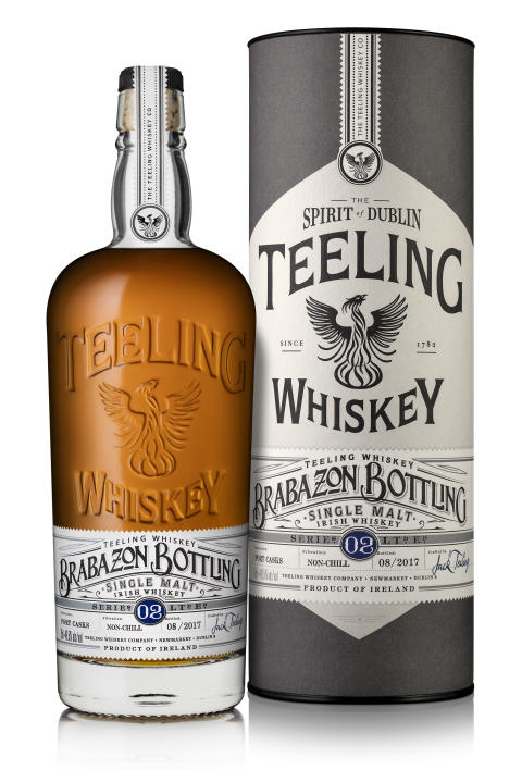 Teeling Brabazon Series II Bottle and box shot