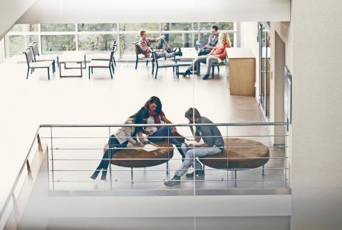 Interiör campus