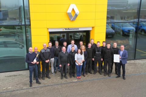 Skanderborg Bilcentrum kåret til Årets Renault Forhandler