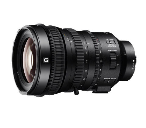 Sony introduserer 18-110mm Super 35mm / APS-C objektiv med power zoom