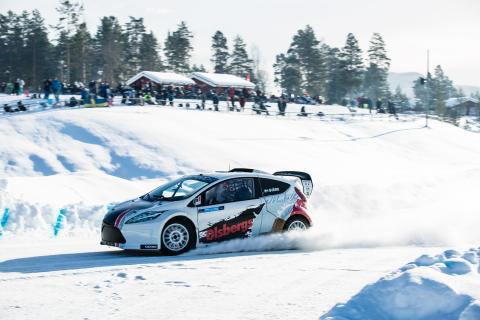 RallyX On Ice premiär i Piteå