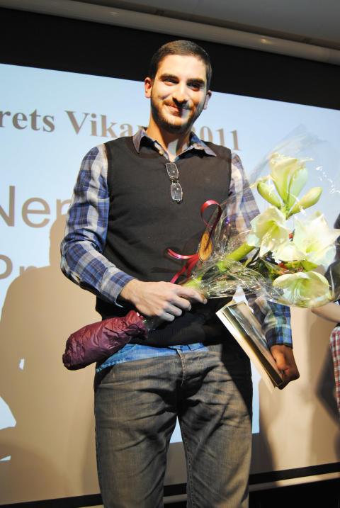 Årets Vikarie 2011 Nenad Prokopovic
