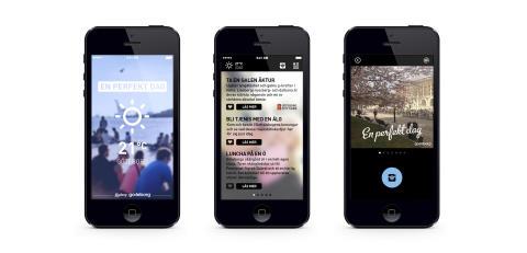 Väderbaserad app ska locka turister till Göteborg