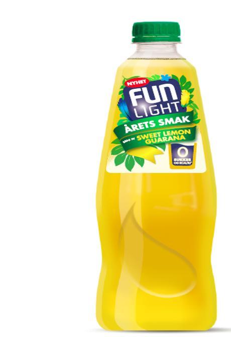 FUN Light Sweet Lemon Guarana