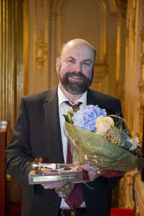 Guldklubban 2015: Per Olof Westlin, ordförande Kanonaden