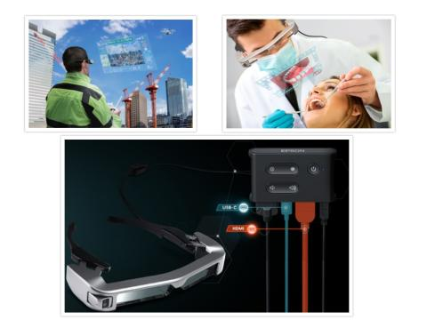 Epson launches new Moverio smart glasses that expands the scope of applications for healthcare, commercial drone piloting, engineering and more