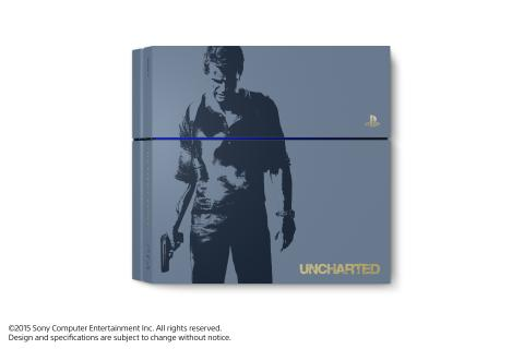 Specialutgåva av PlayStation®4 inspirerad av Uncharted™4: A Thief's End släpps den 27 april