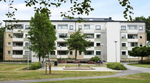 Pressinbjudan: Invigning av det om- och tillbyggda bostadsområdet Skarpan