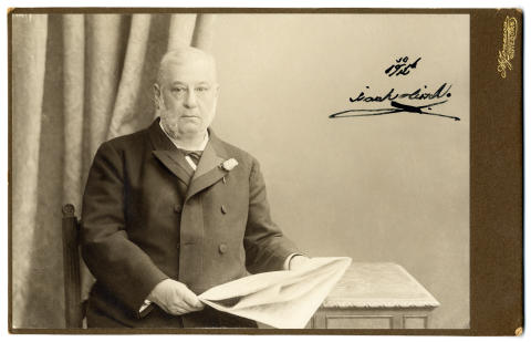 Hundra år sedan Isaak Hirsch dog - minnesstund 6 september