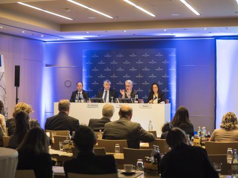 Conférence des analystes et de présentation du bilan 2017