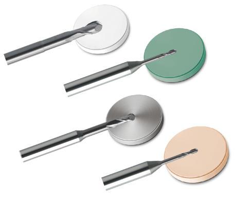 Nu har vi även dentalfräsverktyg för Zirkonzahn dentalfrässystem!