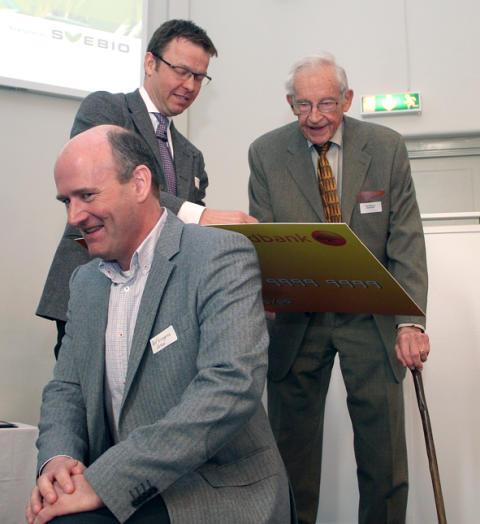 2013 års Jan Häckner-stipendium gick till Rolf Ljunggren på Cortus