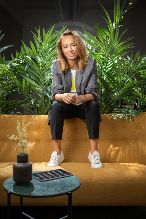 CEO Maria Hedengren. August 2019. Photocredit Readly and Magnus Glans
