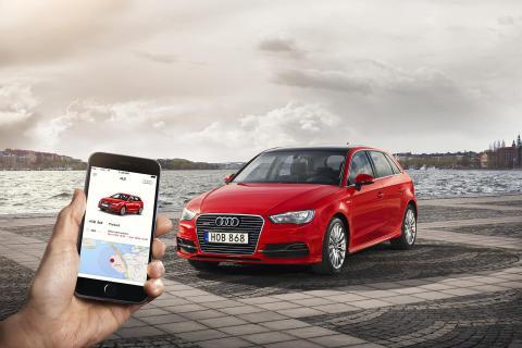 Audi och Uber bjuder på resor i Almedalen