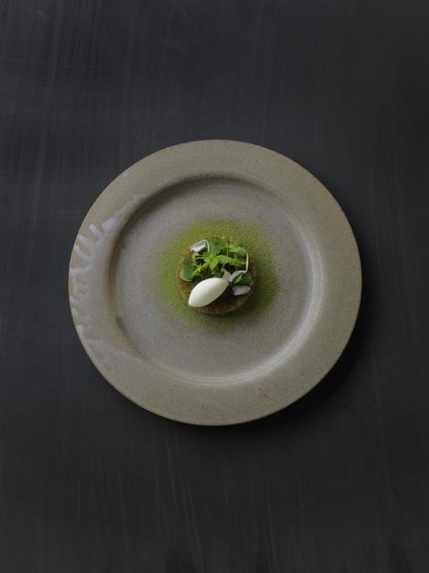 Food shot from Oaxen Krog (2015)