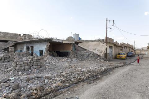 PMU bevittnade förödelsen efter IS ockupation
