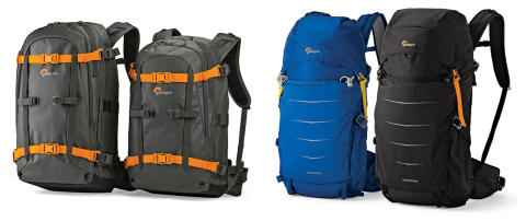 Lowepro Whistler & Photo Sport II, WEB
