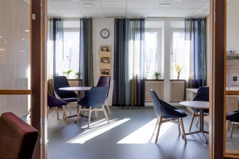 Patienter positiva till lokaler inspirerade av personcentrerad vård